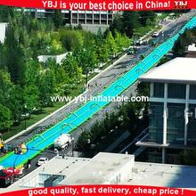 Super quality 300m inflatable slide the city, inflatable water slip n city slide for adults