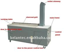 smokeless charcoal stove design for outdoor BBQ