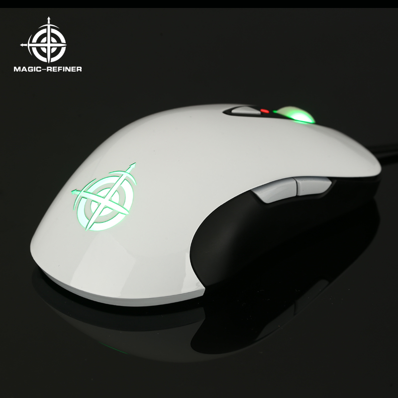 Merry Christmas Special supply Optical 8D gaming mouse with RGB Color for gamer
