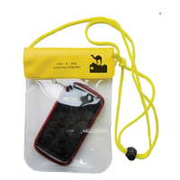 Hot Sale Phone Clear Waterproof Stuff Pouch PVC Sack Dry Bag