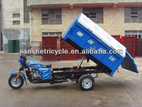 China cleaning garbage tricycle,3 wheel motorcycle for sale