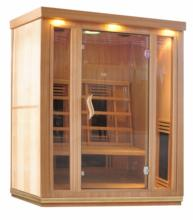 SS-300V 3 person ceramic infrared sauna heater tube sauna individual
