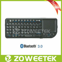 For iPad Iphone Wireless Bluetooth Silicone Keyboard with Touchpad