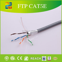 china made excellent quality and good price pass 4pair 24awg fluke ftp cat5e cable tester lan cable