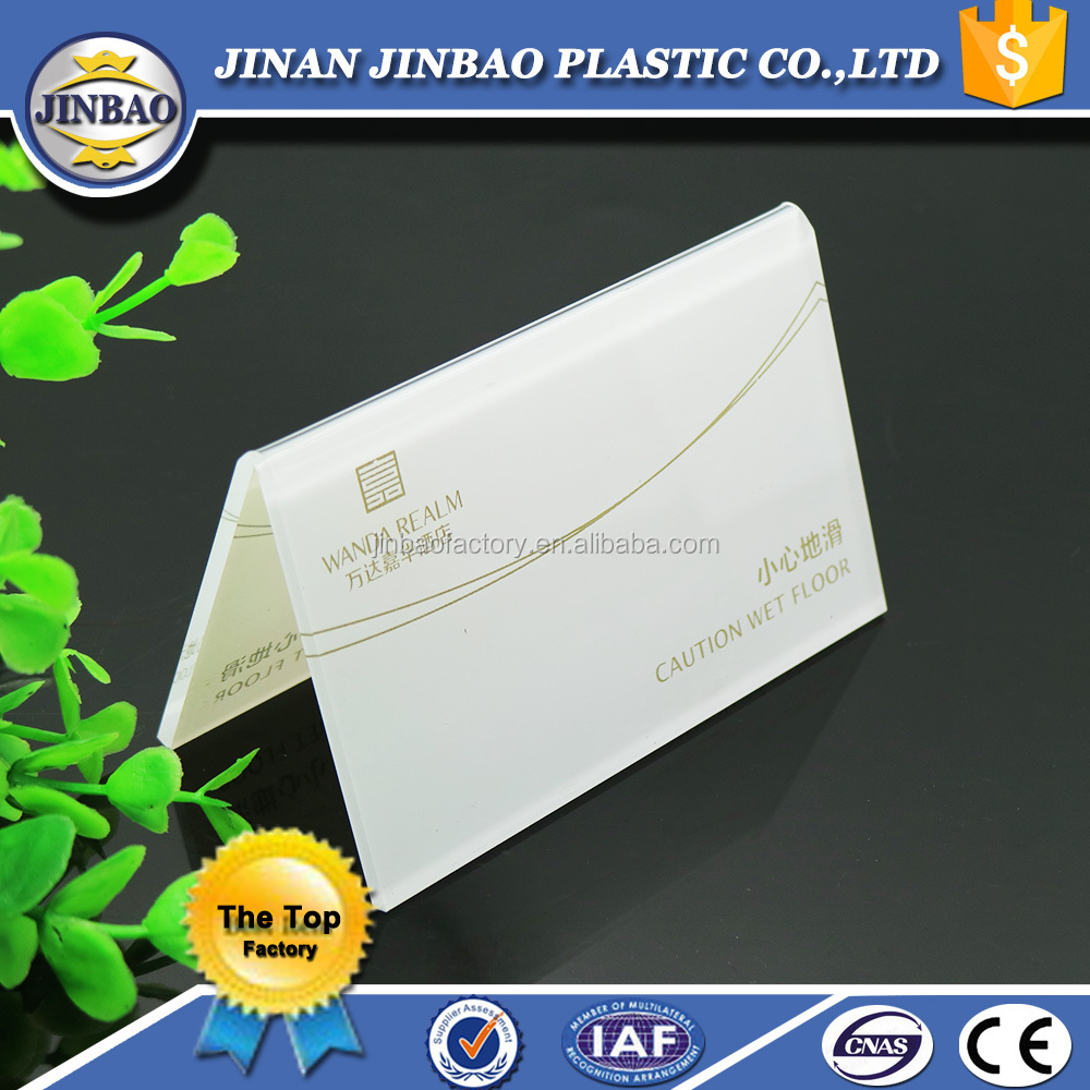JINBAO Acrylic card menu <strong>stand</strong>,unique desktop business card holder and acrylic cardboard display <strong>stand</strong>