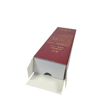 Prevailing customized logo nail polish package box for sale