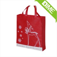 Red OEM Production Recyclable P-P Non Woven Bag