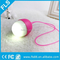 Colorful Egg Shape LED Speaker With Micro USB Charging Cable, Mini Torch Bluetooth Speaker