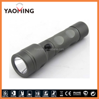 NEW design aluminum alloy rechargeable (1*18650) tail safety hammer green led hunting flashlight
