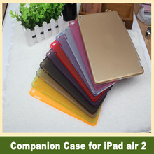 Hard Plastic PC Matte Back Cover Companion Tablets & e-Books Cases for iPad air 2 for iPad 6