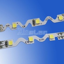Saw toothed maximum 3M continuous length flexible LED light strip
