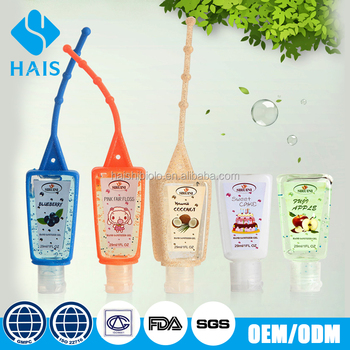 GMP certification mini wholesale bulk free hand sanitizer gel samples china