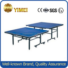 Chinese folded Table Tennis table for game