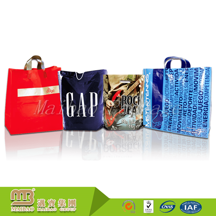 Factory Wholesale Price Biodegradable Custom Printed Shopping Plastic Bags with Own Logo