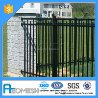 Professional manufacturer Aluminum farm metal gates/cow fence/sheep and goat fence