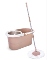 HDR-M021B Walkable 360 Degree Spin Magic Mop,Hand Press With Wringer Mop Bucket