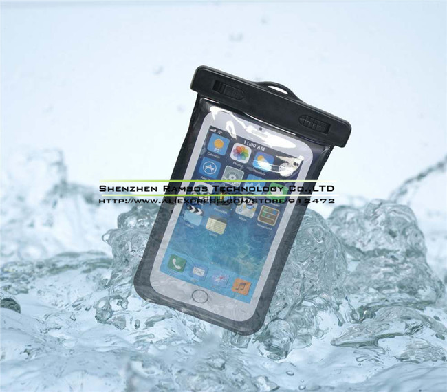 Within 5.5 inch Smartphone Waterproof Pouch Bags Cases Coque Mobile Phone Covers for Samsung Galaxy S3 Mini i8190
