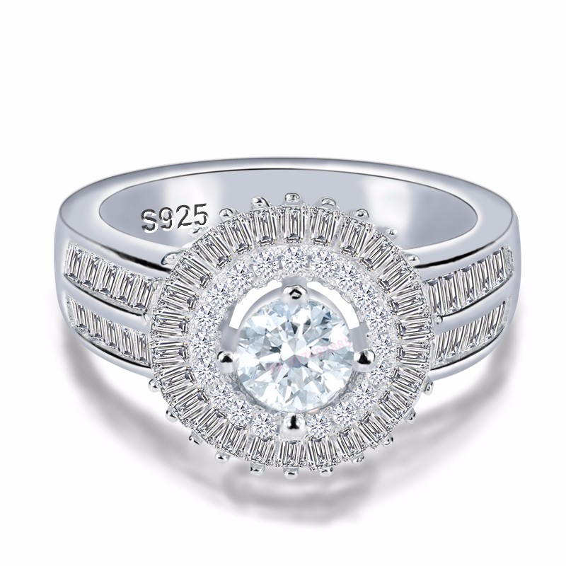 2017 ring 925 sterling silver zircon s925 new model ring AR4316S