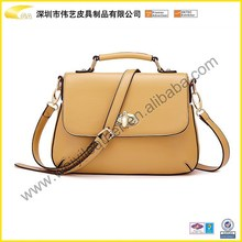 Wholesale Designer Fashion Newest Elegance PU Leather Cheap Popular Woman Shoulder Bag For Brand Hand Bag Custom Made In China