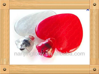 1000ml heart sharp PVC Hot Water Bottle to European, wholesale