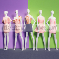 HELENA Hot sale abstract fashion female mannequins in white color