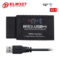 Strong Quality Wifi327 Usb Elm327 Wifi Elm 327 Wifi Obd2 Eobd With Salable Price