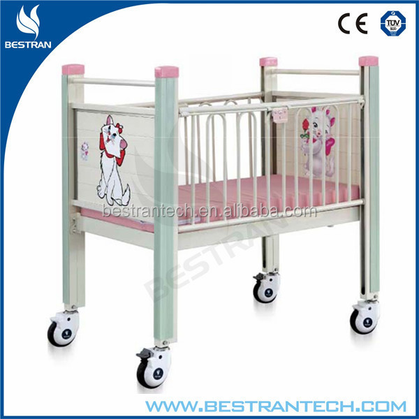 BT-AB111 China Hospital Bed Flat Adult Baby Crib Manufacturer Prices