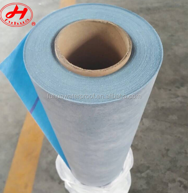 Blue pp pe waterproofing fabric shower liner washing room wall