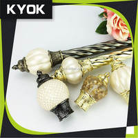 KYOK New design ! adjustable curtain rod wholesale ,metal curtain rod ,motorized curtain rod