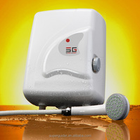 Electric instant shower water heater water
