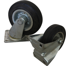 High quality customize PU trolley side mount caster wheel