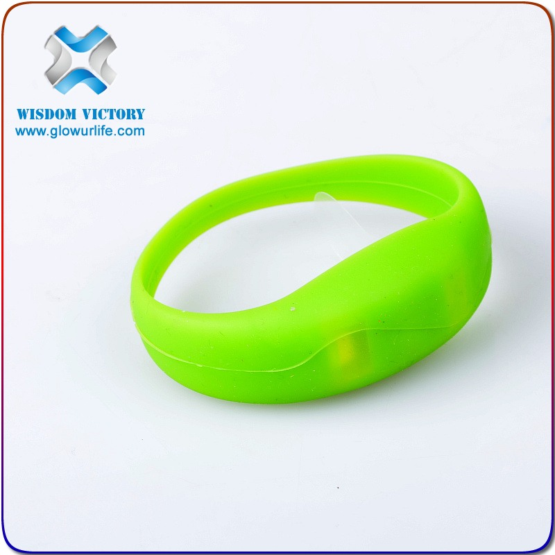 2016 Unisex Party LED Light Up Bracelet Wristband,motion activated led bracelet