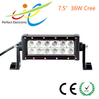 car accessories 7.5inch 36W 4x4 Off Road LED Light Bar