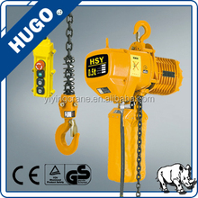 0.5ton up to 25 ton portable construction electric chain used lift hoists crane with remote control