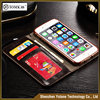 Wholesale Premium magnetic flip holder phone case wallet leather for iphone 6 6S cell phone cover