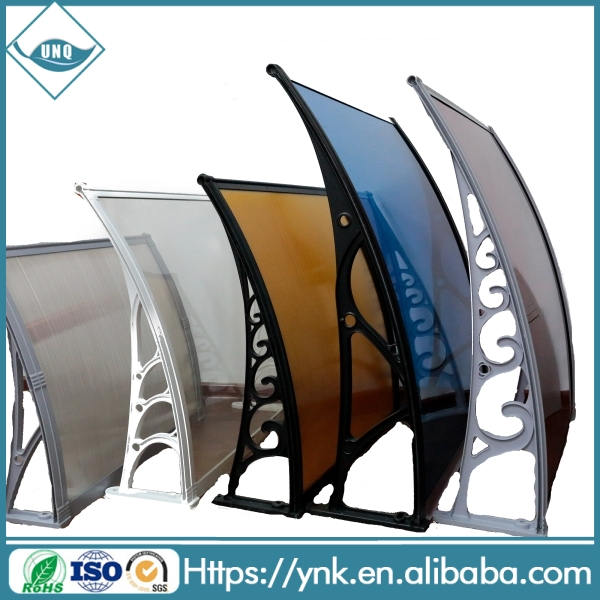 wholesale cheap awnings,high quality polycarbonate awning price malaysia, new modern full cassette awning