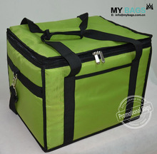 Customized oversize large size strong fabric logo print insulated delivery bags