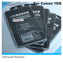 Tempered Glass LCD digital camera screen protector for Canon 1DX / OEM Screen