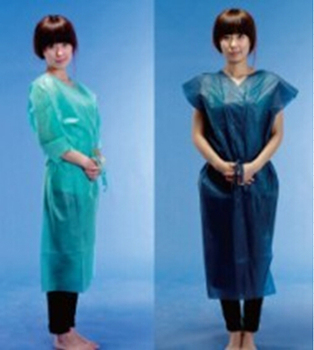 Hospital use Leboo disposable patient gown