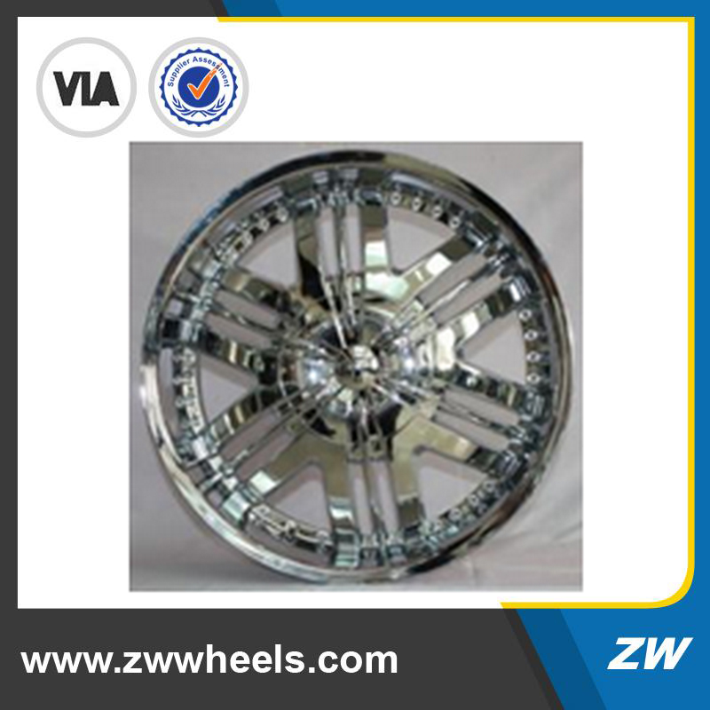 European Silver Rim New Design: Alloy Wheel Rim Chrome 22 inch 24 inch (ZW-S105)