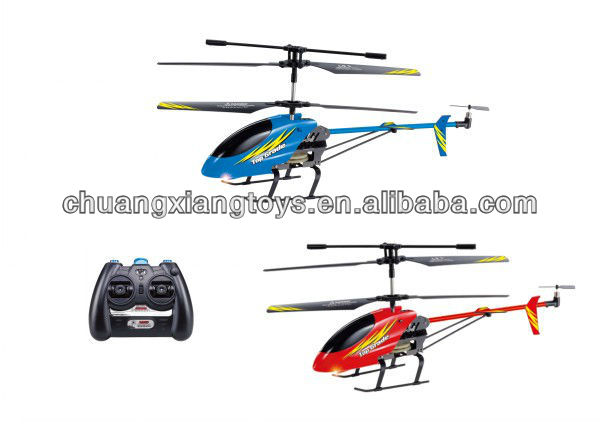 3.5 channel latest infrared alloy indoor rc helicopter with gyro