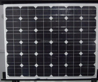 Mono 100W 5.5A high transmission rate solar panel