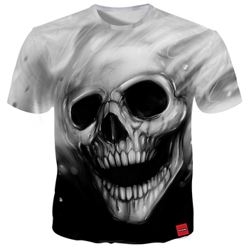 Free Shipping Men 3D Print Tees Shirt Summer Style Customized Short Sleeve T Shirt