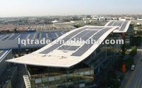 72W 16.5V Flexible Laminated Solar Panel Peel and stick installation, triple junction amorphous silicon solar cell