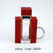 100 ml crystal square perfume container