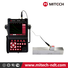 Wide-range intelligent Ultrasonic Flaw Detector 660C for digitally non-destructively testing internal welding cracks stitching