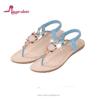 KASali-014 fashion ladies flat shoes; plastic jelly shoes women; shoes women sandals summer