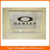 OAKLEY POP ACRYLIC DISPLAY BLOCK COLLECTABLE DEALER MERCHANDISING