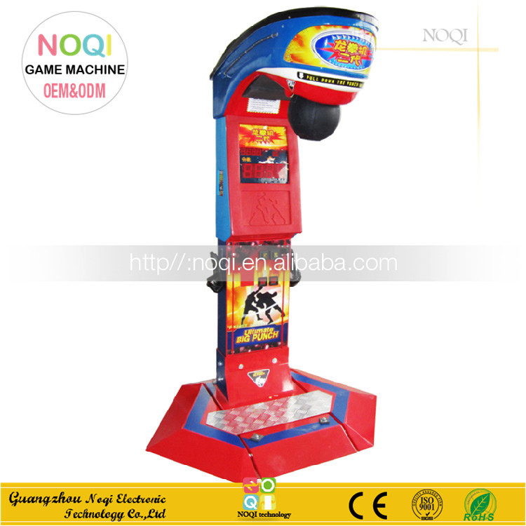 Challenging game center boxing game machine punch,game machines for boxing wincash