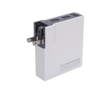 mobile power supply,OEM intelligent power bank portable charger 5200mah